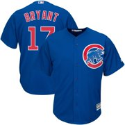 Kris Bryant Majestic Youth Official Cool Base Player Jersey - Royal