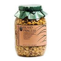 Island Princess Macadamia Popcorn Crunch, 24 Oz.