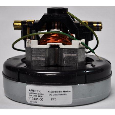 Ametek Lamb 240 Volt, 5.7 Inch Diameter, 1 Stage, Through Flow Motor 119401-00 - image 1 of 1