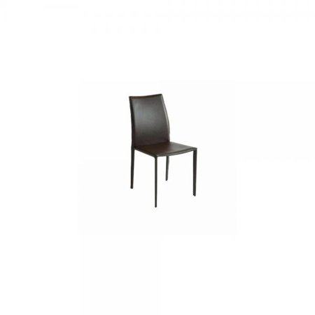 Sienna Dining Chair in Brown Leather by Nuevo - HGGA310