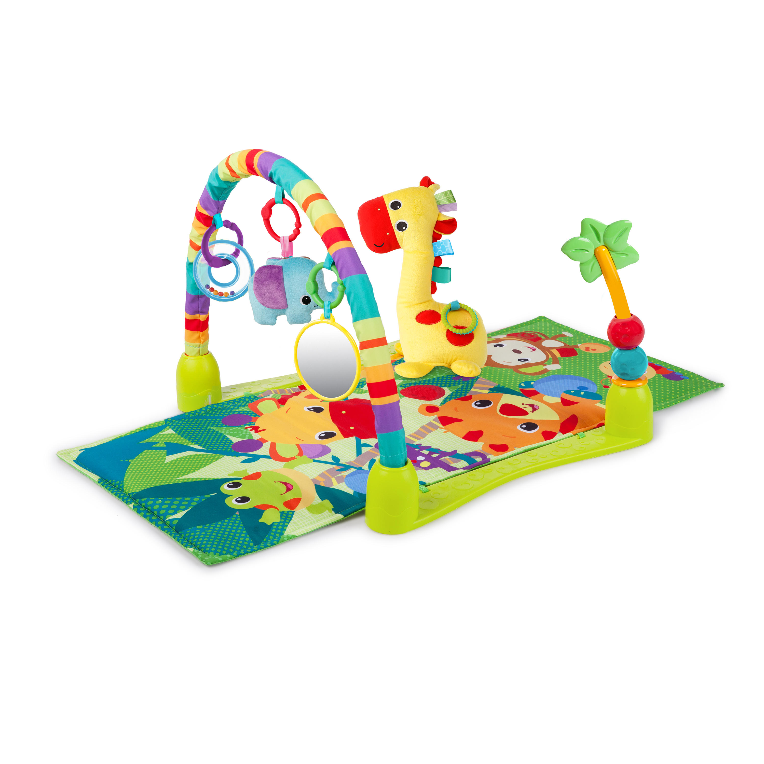 Bright Starts 4 In 1 Jungle Discovery Activity Gym