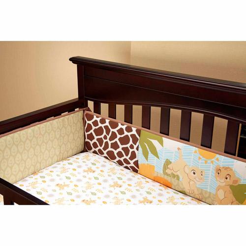 Disney Baby Bedding Lion King Jungle Fun Crib Bumper