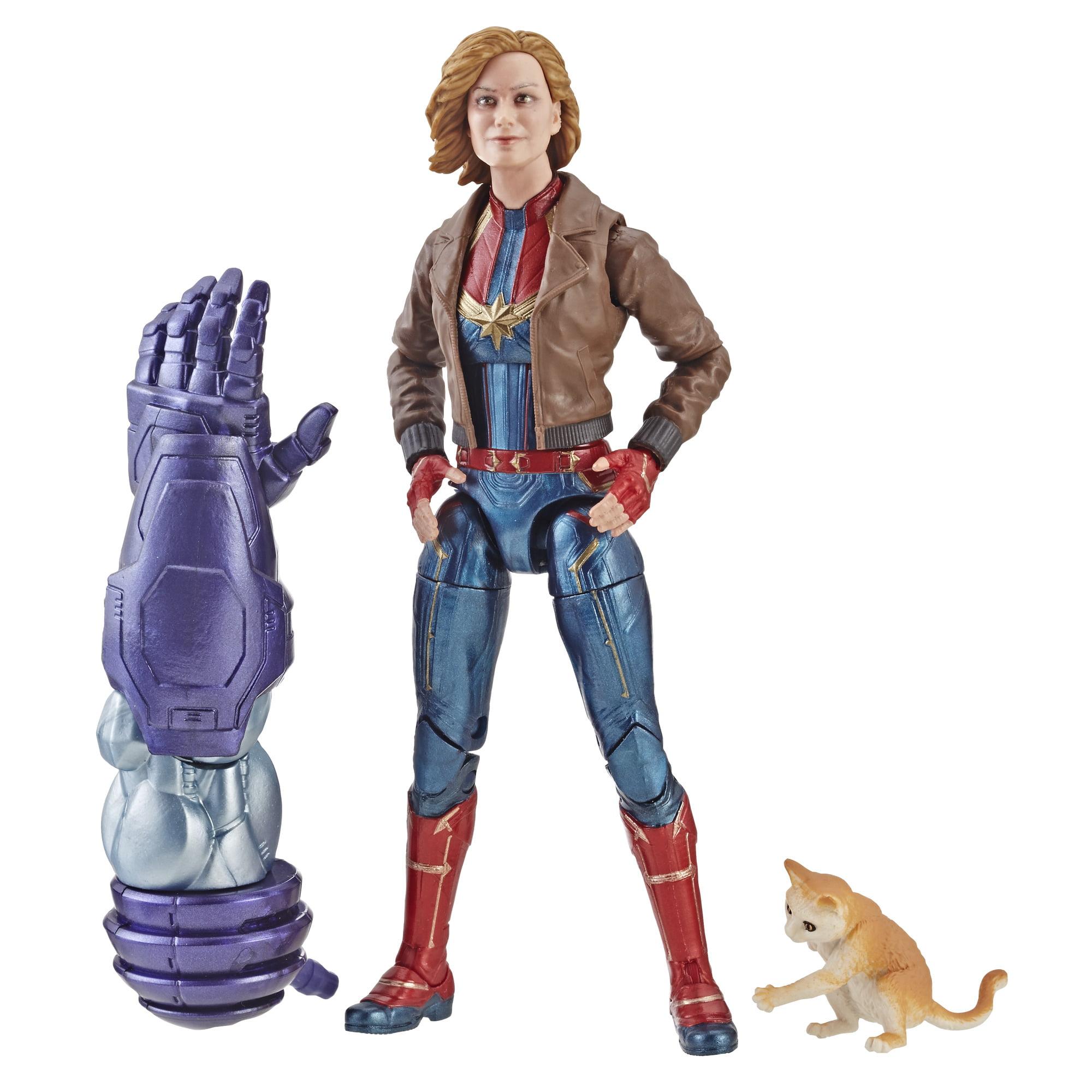 Legends Captain Marvel Bomber Jacket Figure for Collectors