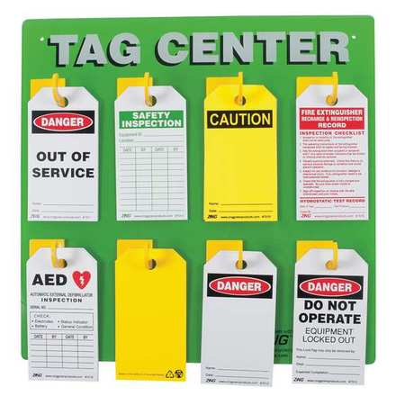 ZING 2670 Tag Center,Unfilled,15 In H