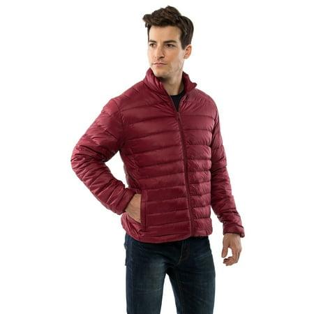 84b117d8741 Alpine Swiss - Niko Men's Down Jacket Puffer Bubble Coat Packable Light  Warm Parka - Walmart.com