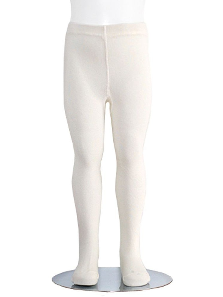 Ivory Piccolo Heavyweight Opaque Toddler Little Girls Tights 2T-16