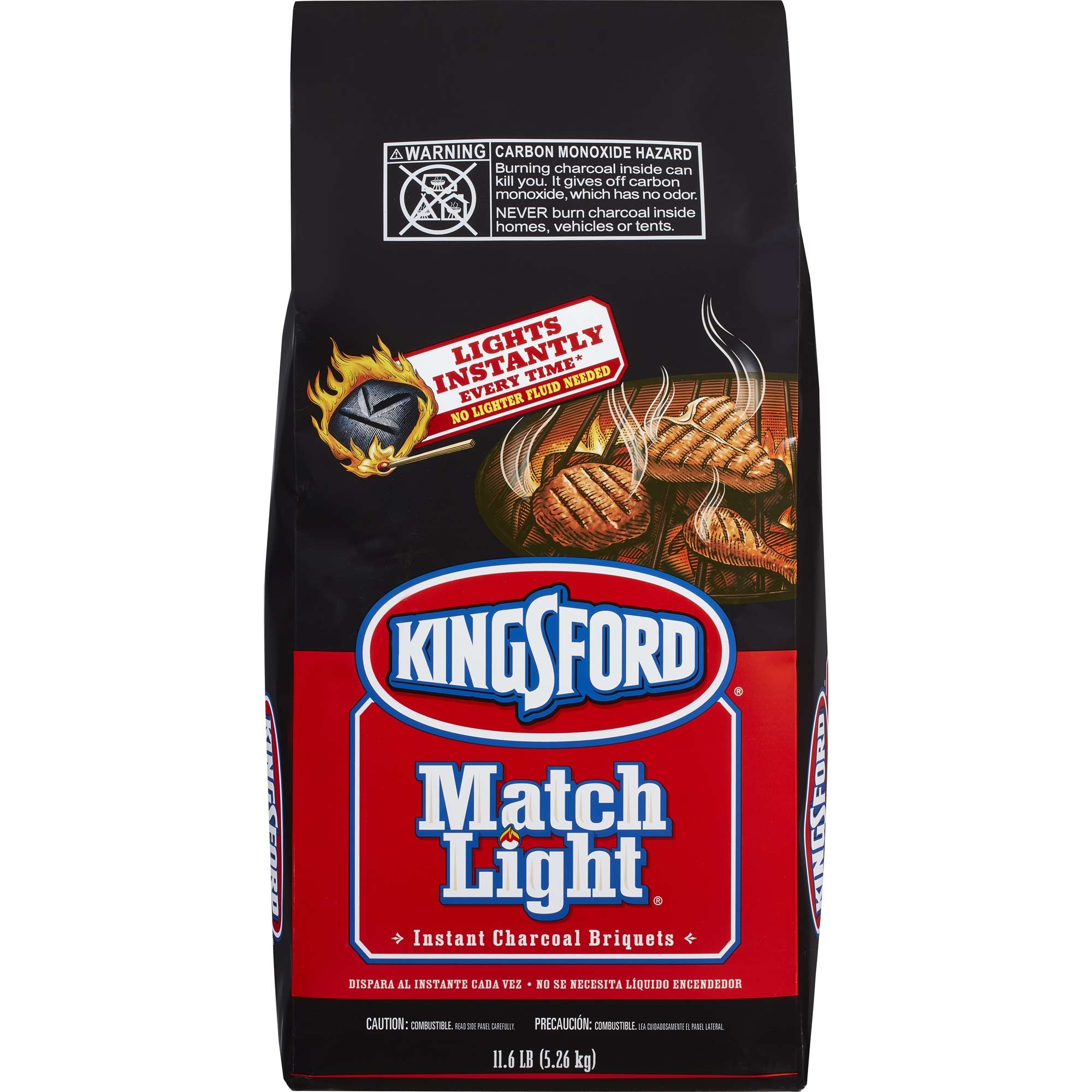Kingsford Match Light Charcoal Briquettes, 11.6 lbs