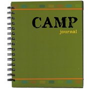 Hardcover Spiral Camp Journal For Boys,24 Pages With Designs A great keepsake with all his camp memories!