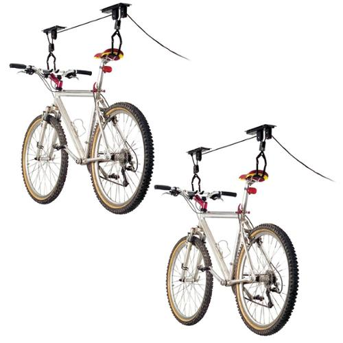 2-Bike Elevation Garage Bicycle Hoist Kit