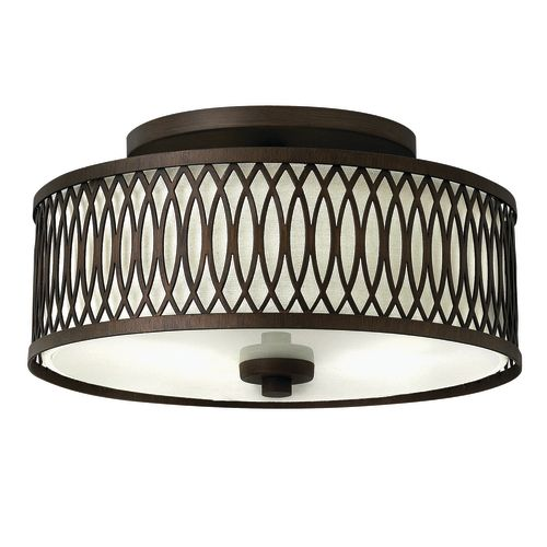 Hinkley Lighting 3291 3 Light Semi-Flush Ceiling Fixture from the Walden Collection