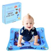 matoen Children And Baby Inflatable Baby Water Pad Fun Activity Play Center