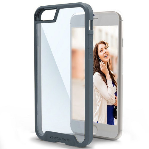 Scratch Proof Clear Back Case for iPhone 6 / 6S (By Encased)