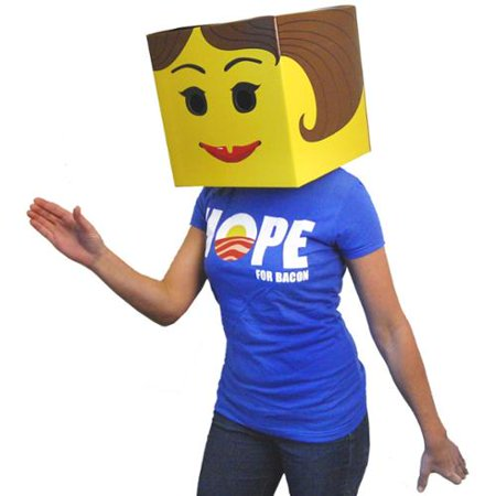 Female Yellow Brickman Costume Box Head](Female Boxing Costumes)