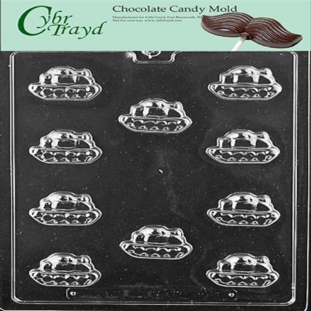 Cybrtrayd Life of the Party K159 Bite Size Military Army Tank Armor Chocolate Candy Mold in Sealed Protective Poly Bag Imprinted with Copyrighted Cybrtrayd Molding Instructions](Army Party)