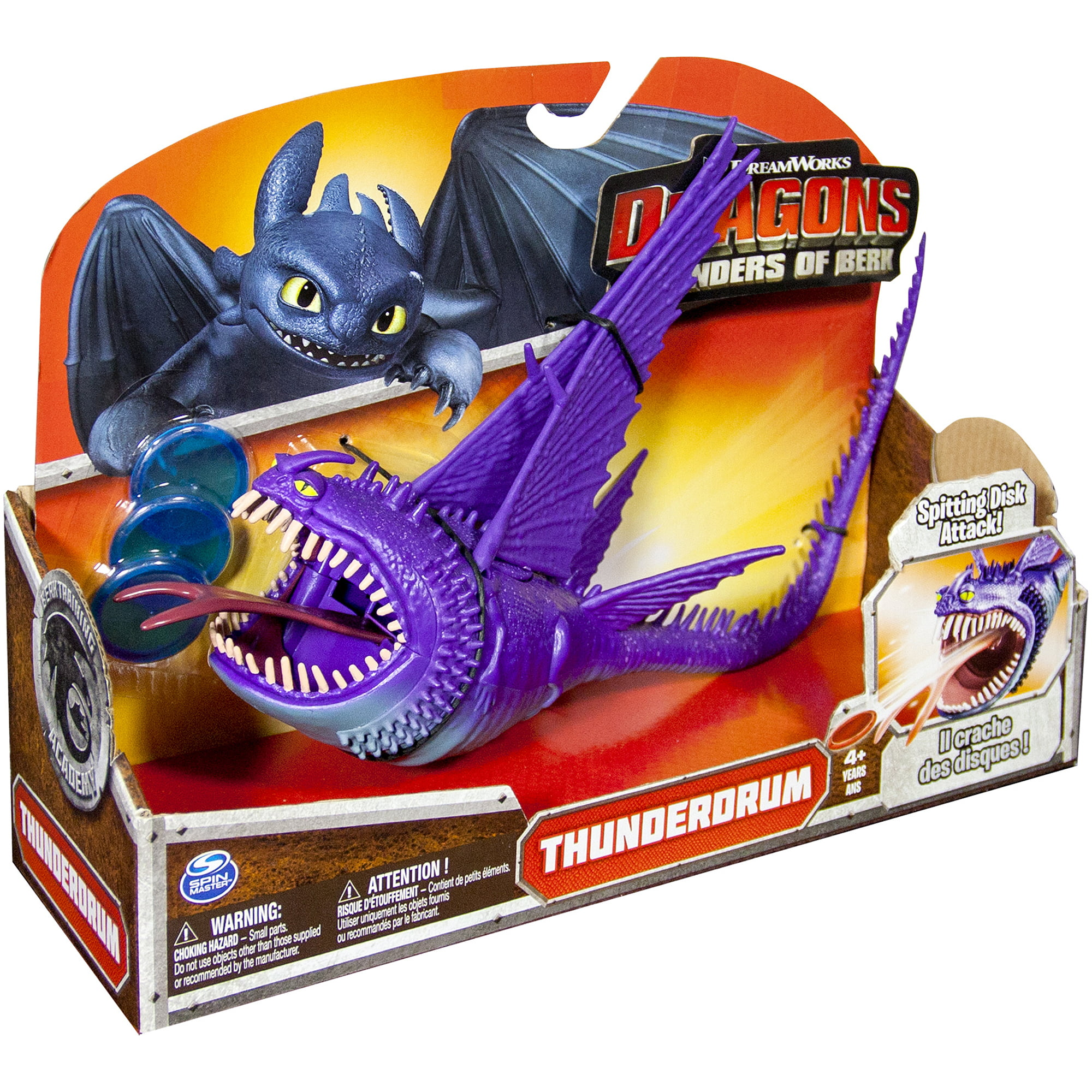 How to train your dragon dreamworks dragons defenders of berk how to train your dragon dreamworks dragons defenders of berk action figure thunderdrum purple walmart ccuart Image collections
