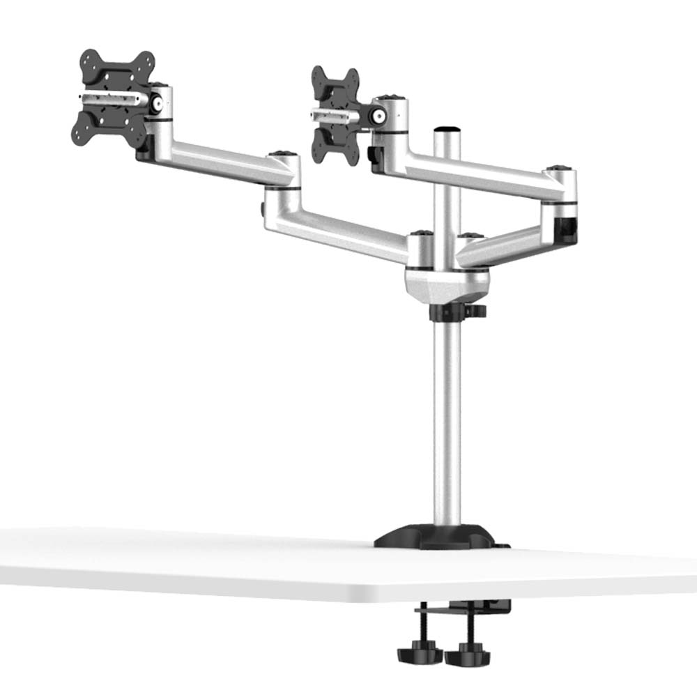 Cotytech Dual Monitor Desk Mount for Apple w/ 2-in-1 Base BL-AP20