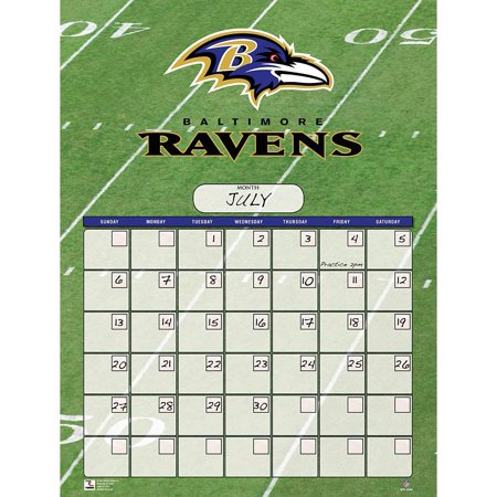Baltimore Ravens Perpetual Calendar, Baltimore Ravens by Turner Licensing