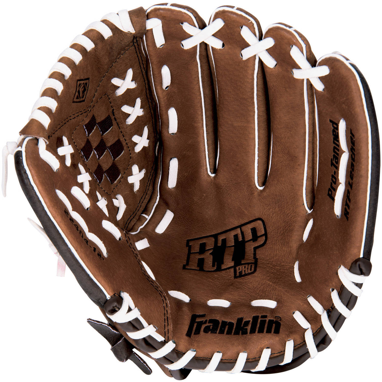 "Franklin Sports 12"" RTP Pro Baseball Glove, Right Hand Throw Image 1 of 2"