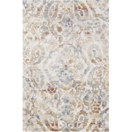 Dynamic Rugs PM7104432109 Prism Rugs, Ivory & Multi - 6.7 x 9.6 in. - image 1 of 1