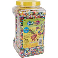 Perler Fuse Beads Fun Fusion Multi-Mix, 22,000 Beads, 30 Colors