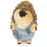 "Zoobileea""¢ Heggies Farmer Plush Pet Toy"