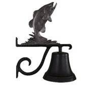 Montague Metal Products CB-1-30-SI Cast Bell With Swedish Iron Bass Ornament