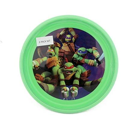 TMNT Teenage Mutant Ninja Turtles 2 Pack Plates ()