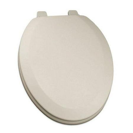 Sensational Deluxe Molded Wood Elongated Toilet Seat Biscuit Linen Cjindustries Chair Design For Home Cjindustriesco