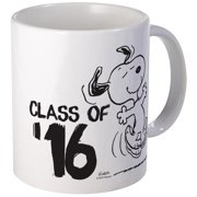 CafePress Snoopy Class Of '16 Mug Unique Coffee Mug, Coffee Cup CafePress by