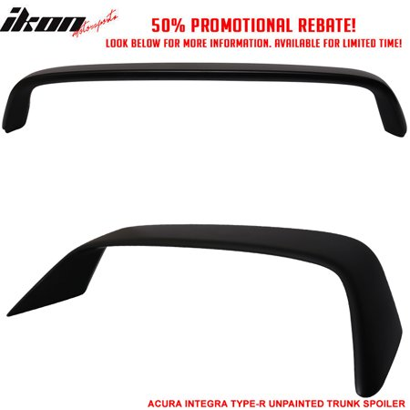ABS JDM Fits 94-01 Acura Integra DB8 DC2 3D Hatchback Trunk Spoiler Wing