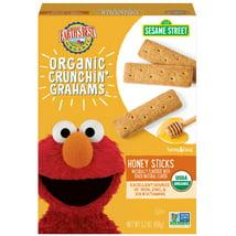 Baby & Toddler Snacks: Earth's Best Crunchin' Grahams
