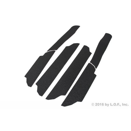 Door Entry Guards Scratch Shield 2010-2017 Compatible with Mitsubishi Outlander Sport ASX 6pc Sill Protection (Shield Guard)