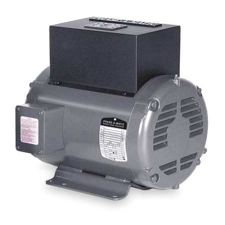 PHASE-A-MATIC R-5 Phase Converter, Rotary, 5 HP, 208-240V ()