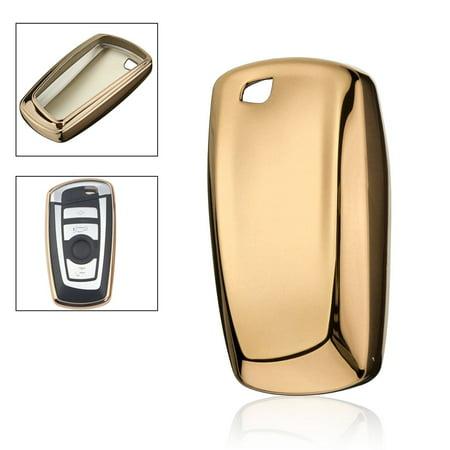 Remote Key Cover Fob Case Shell TPU For BMW 325i 328i 330i 535i 1 3 4 5 6 (Bmw 1 Series Remote Key Not Working)