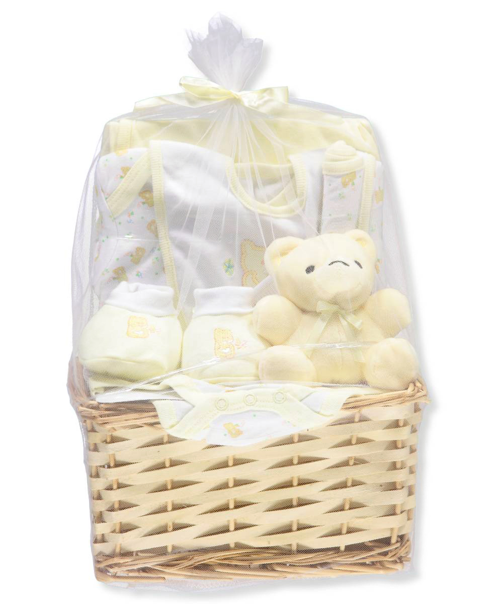 Big Oshi Unisex Baby 9-Piece Gift Set