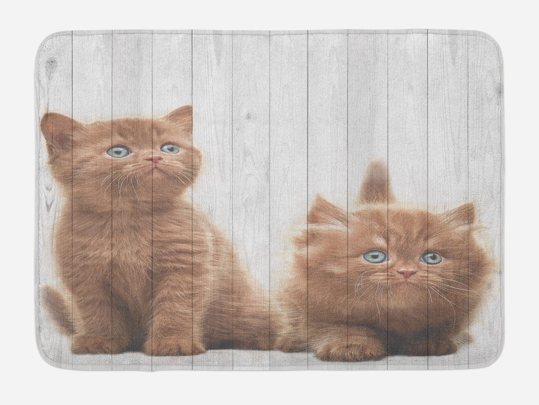 Animal Bath Mat, Cute Kittens Baby Cats Sweet Feline Kids Nursery Child Kitty Theme... by 3decor llc