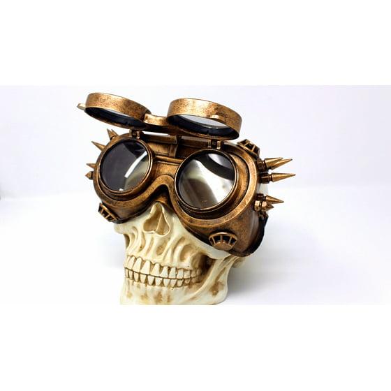 6cf6a56c1d Paradise Treasures - Steampunk Flip Aviator Goggles Apocalypse ...