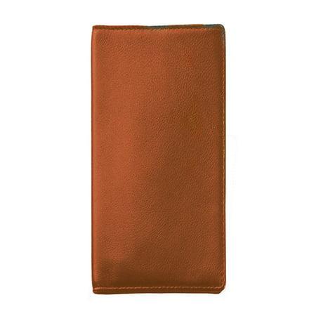 Royce Leather Oversized Airline Ticket   Passport Holder   Tan