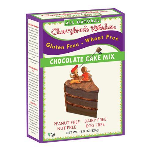 Cherrybrook Kitchen - Gluten Free, Chocolate Cake Mix, 16.4 oz. Box (Pack of 6)