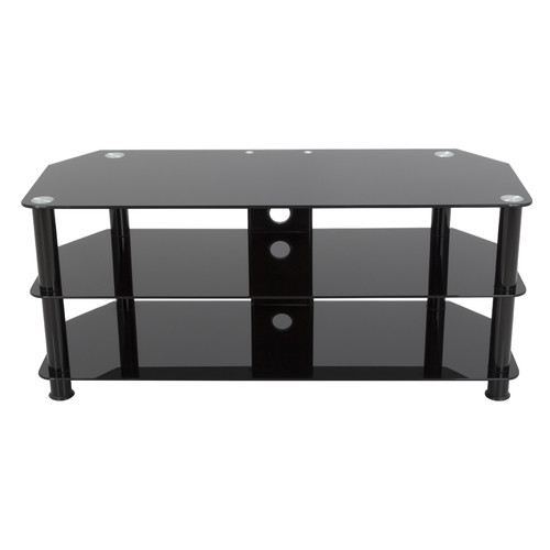 "AVF TV Stand with Cable Management for up to 55"" TVs, Multiple Colors"