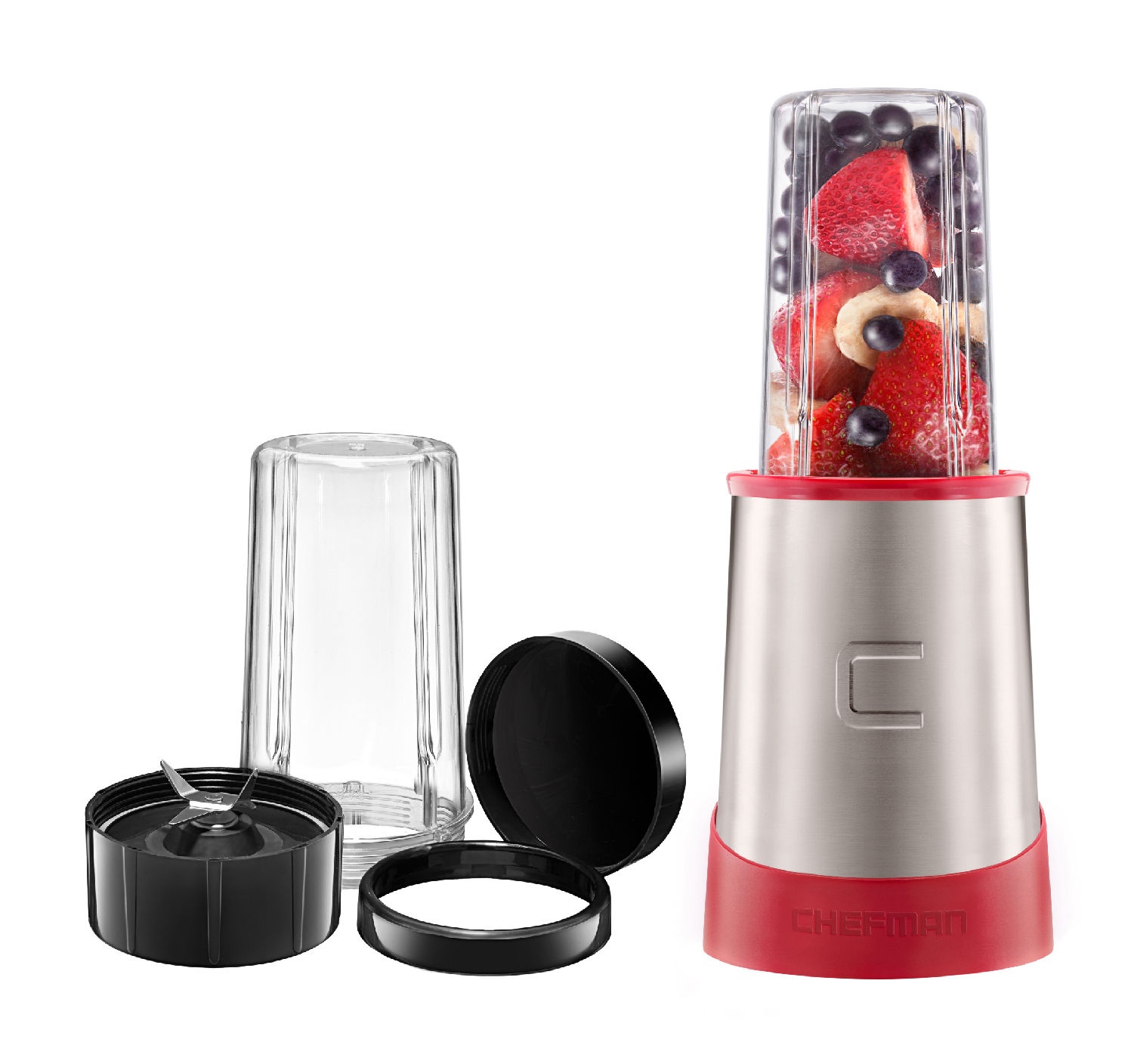 Chefman Ultimate Personal Smoothie Blender, Red