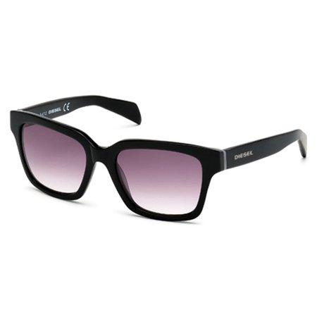 Diesel Women's DL0073 Acetate Sunglasses BLACK (Diesel Womens Sunglasses)