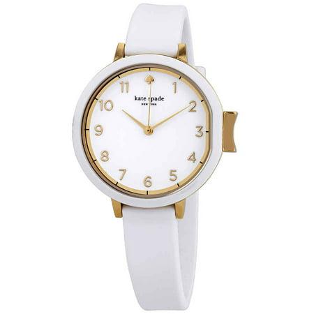 Kate Spade Park Row White Dial Ladies Watch KSW1441 (Jack Spade Watch)