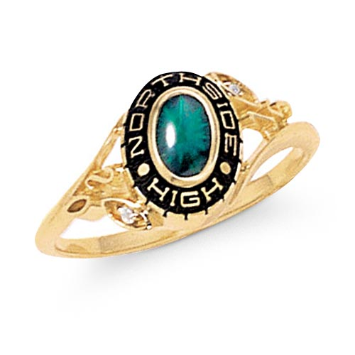 s personalized fashion class ring walmart