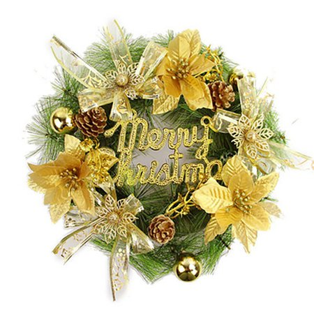 Christmas Decorations Christmas Wreath for Door & Window Arrangement Ornaments Hotel Bar Mall Ornaments ()