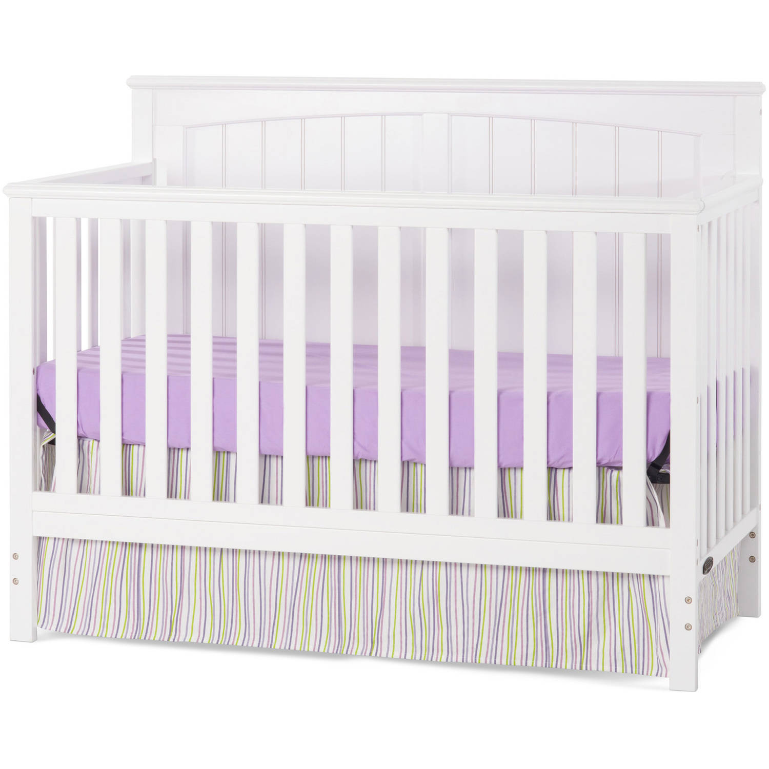 Child Craft Sheldon 4-in-1 Convertible Crib Matte White