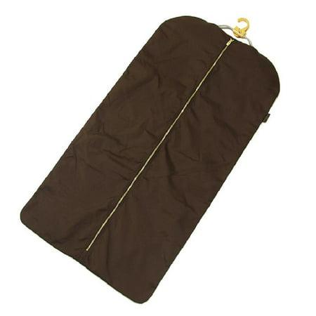 (Louis Vuitton Khaki Brown W Garment Carrier W/ Hanger 8lr0124)