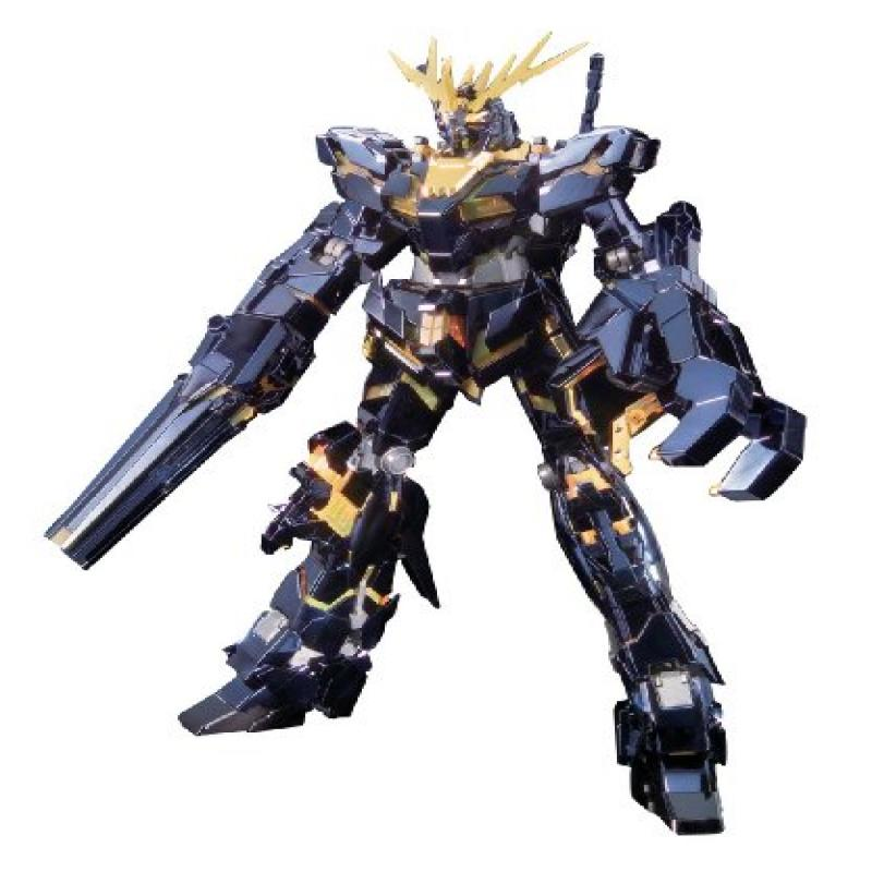 Bandai Hobby Banshee Titanium Finish Master Grade 1 100 RX-0 Gundam Unicorn Unit 02 Action Figure by Bandai