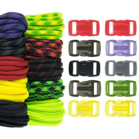 Craft County 550 Paracord Combo Crafting Kit with Buckles