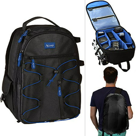Acuvar DSLR Camera Backpack with Rain